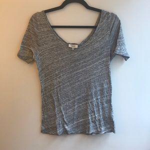 Babaton cotton t shirt Sz xs in grey